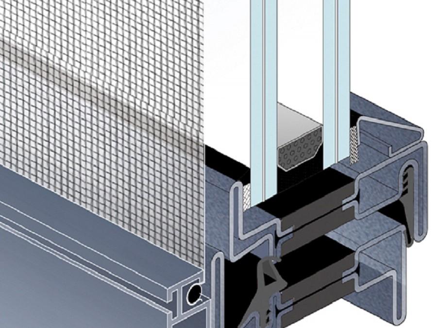 Windows and Doors screens: Fixed Magnetic screen