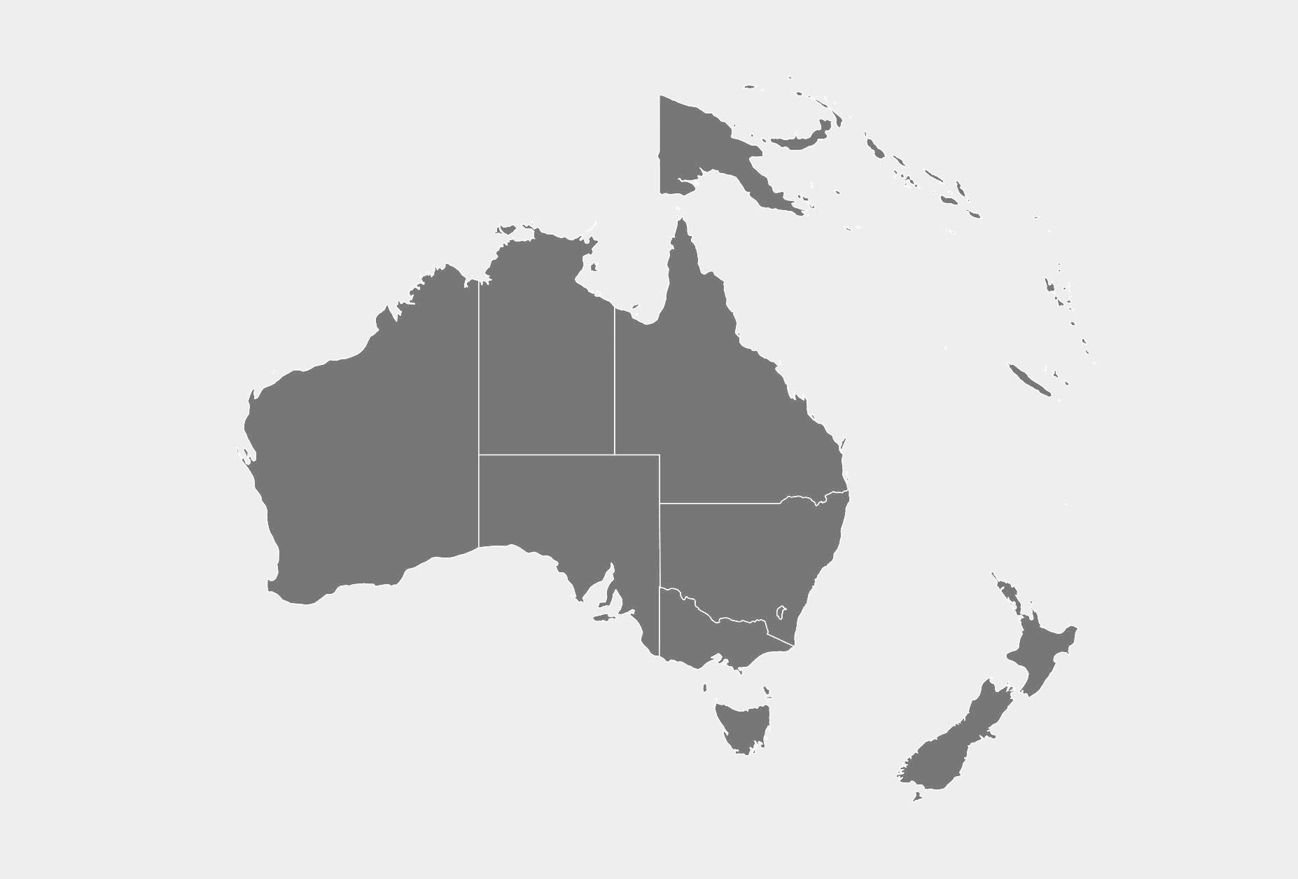 OCEANIA MAP