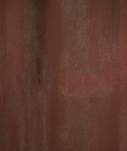 Metals :Sample of the Corten finish