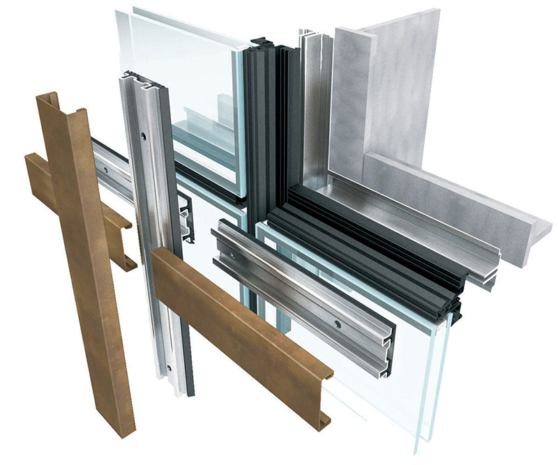 Brombal's THERMAL BREAK ADD-ON GLASS FACADES