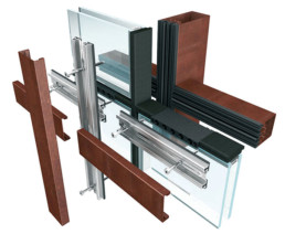 Brombal's THERMAL BREAK SELF-SUPPORTING CURTAIN WALL