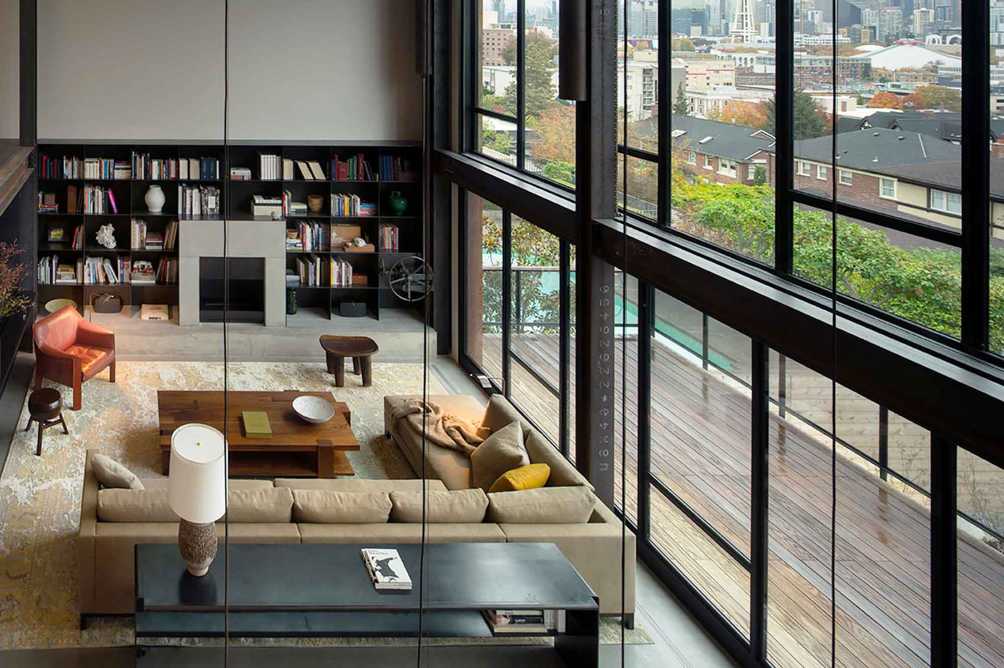 BROMBAL'S GUILLOTINE WINDOWS AND DOORS IN A PROJECT IN SEATTLE