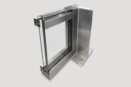 metal windows and doors corner sample
