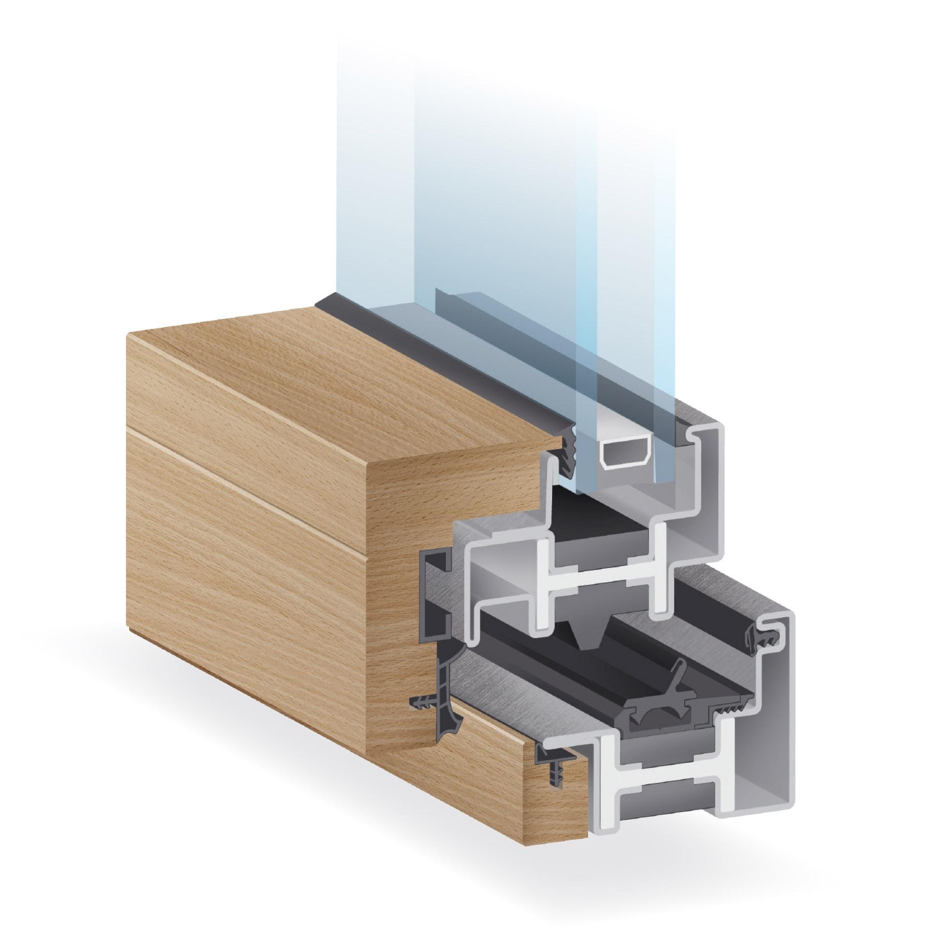 System metal wood EBE