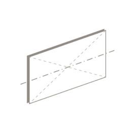 horizontal pivot window drawing