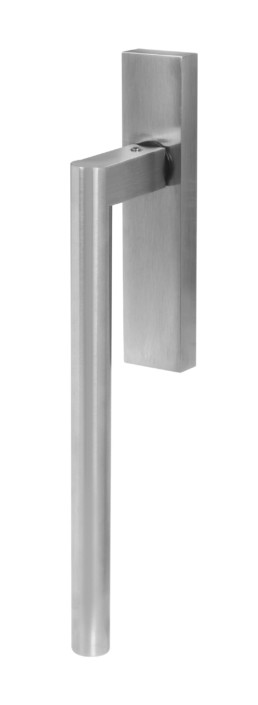 flush door handles: Round lift and slide door handle