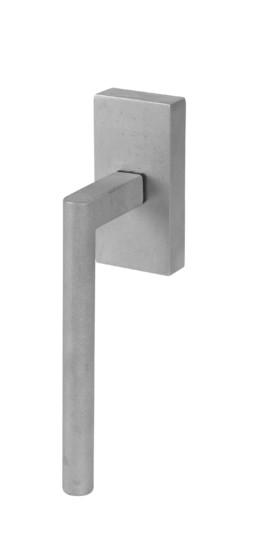 Iron window offset round handle