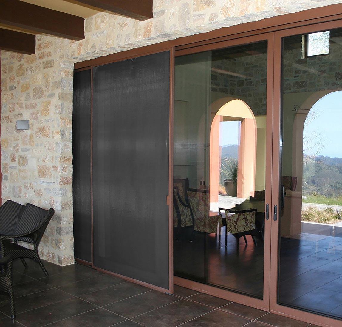 Windows and doors screens: Sliding door screen model