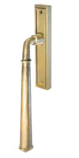 Venetian lift and slide door handle