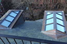 Brombal Skylights made in glass and steel