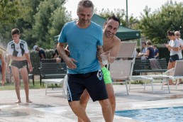 Brombal Team building event at the pool house: