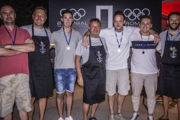 Brombal Team building event at the pool house: prizegiving