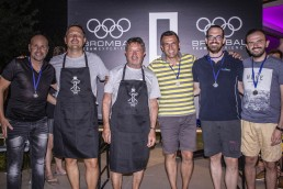 Brombal Team building event at the pool house: award ceremony