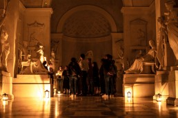 Night visit at Canova's museum