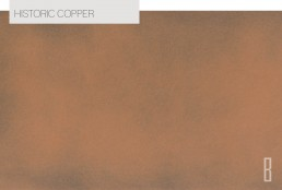 historic copper color