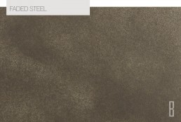 faded steel color