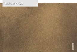 rustic bronze color