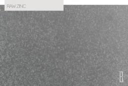 raw zinc color