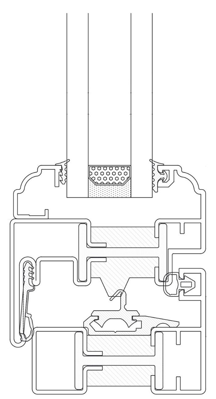 drawing of the alfa classical section